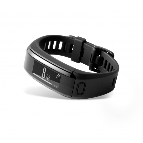 Garmin Activity Tracker with Wrist-based HR (Vivosmart HR Black Regular)