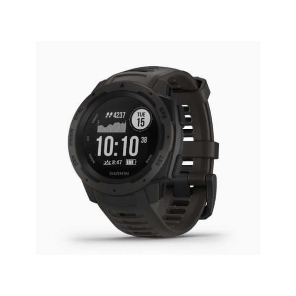 Garmin Instinct Graphite Rugged GPS Watch