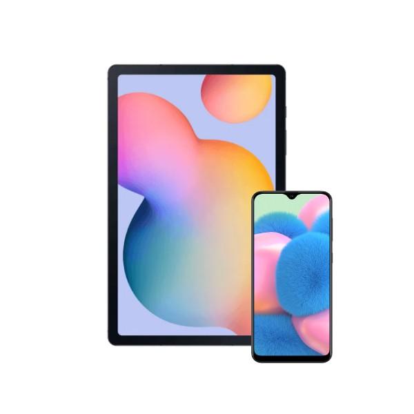 Samsung Galaxy Tab S6 Lite 64GB (WIFI) + Samsung Galaxy A30s (64GB)