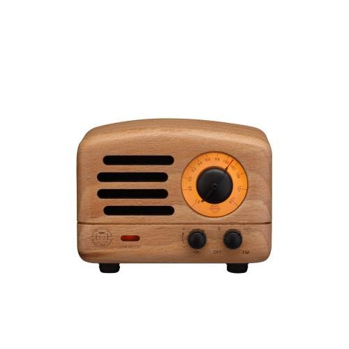 Muzen OTR Wood Wireless Bluetooth Speaker complimentary TY Beanie Boos 6in Reg Set