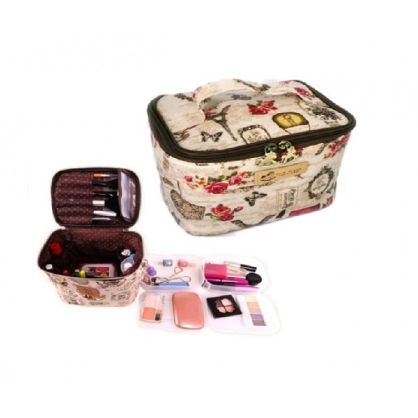 Uma Hana Zakka Portable Toiletry Case (Assorted)