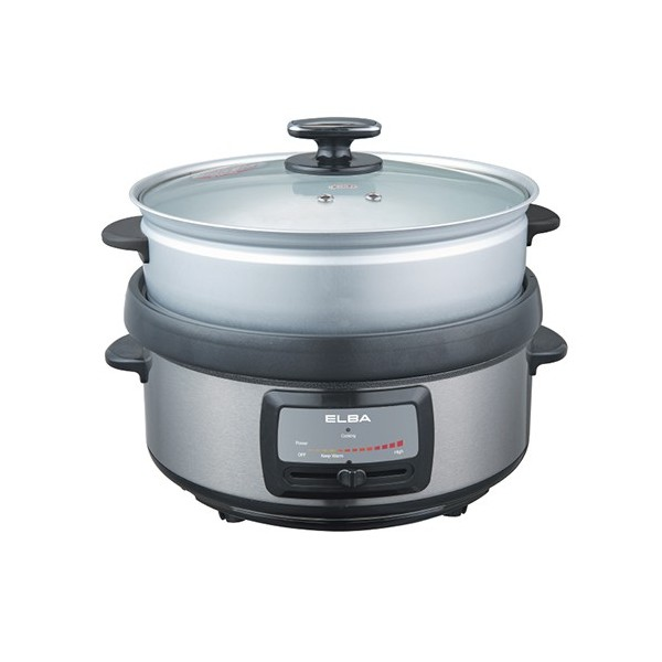Elba 5L Multi Cooker with Steamer
