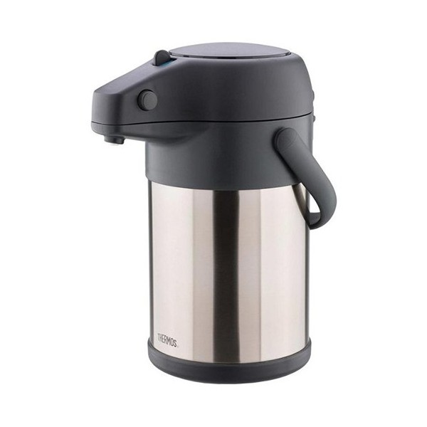 Thermos® 3.0L Lifestyle Stainless Steel Pump Pot
