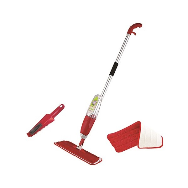 Easy Spray Microfiber Mop with Brush