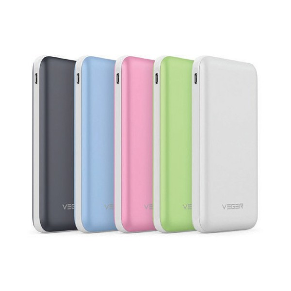 Vegar Abs Rubber Power Bank 10,000mAh