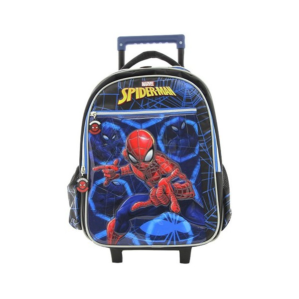 Marvel Spiderman Rescue Children Trolley Bag 16""
