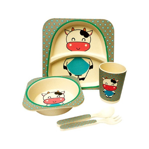 Bamboo Kids Diningware 5pcs Set
