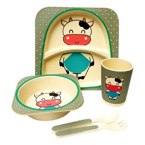 Bamboo Kids Diningware 5pcs Set