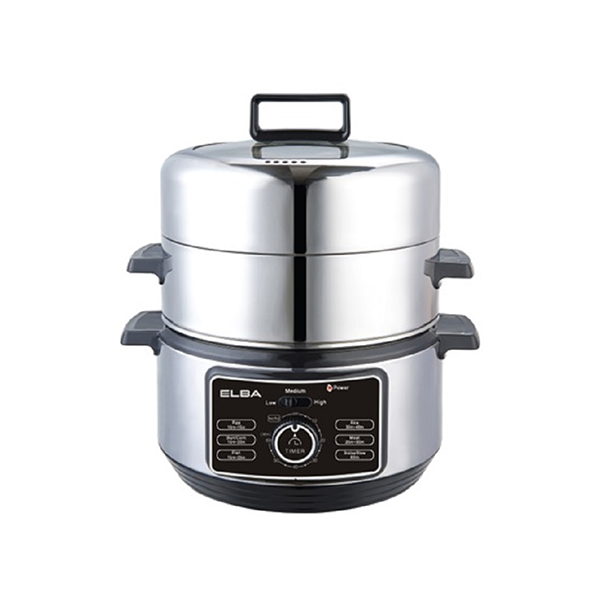Elba 6L Stainless Steel Food Steamer