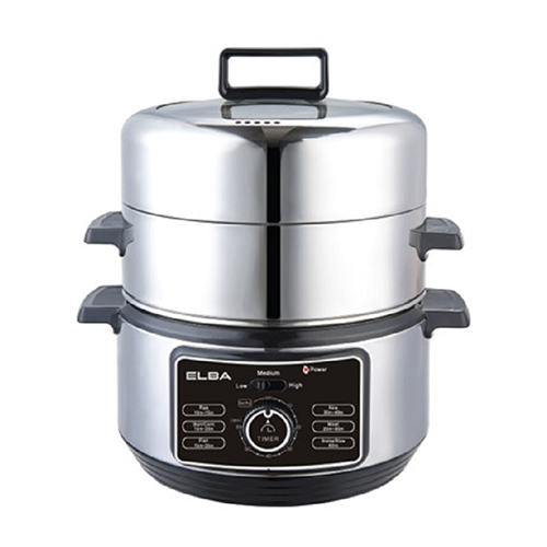 Kitchen Living Food Steamer: Elba 6L Stainless Steel Food Steamer