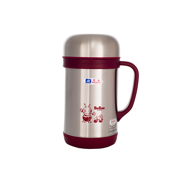 Bubee 600ml Two Layers High Stainless Steel Vacuum Cup