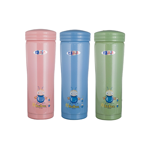 Bubee 1x500ml Two Layers High Stainless Steel Vacuum Bottle (Assorted Colors)