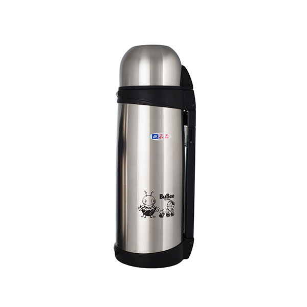Bubee 1.5L Two Layers High Stainless Steel Vacuum Bottle