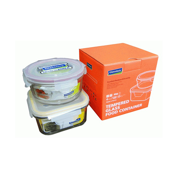 Glasslock Food Container ( Set of 2 pcs)