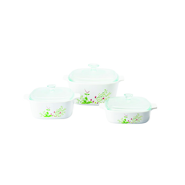 Corningware 6pcs Covered Casserole Set