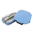 Stainless Steel 1L 3 Compartments Lunch Box