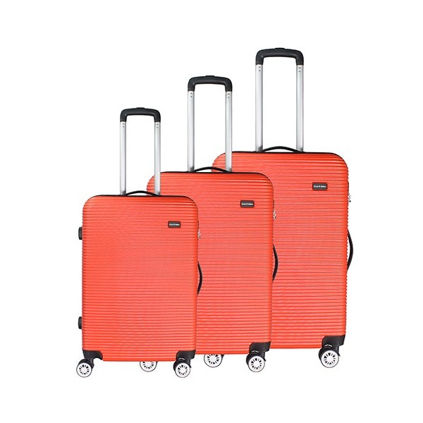 Case Valker Lasso Premium ABS Travel Luggage Bag 3-in-1