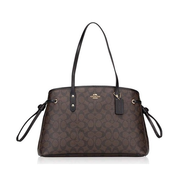 Coach Drawstring Carryall In Signature