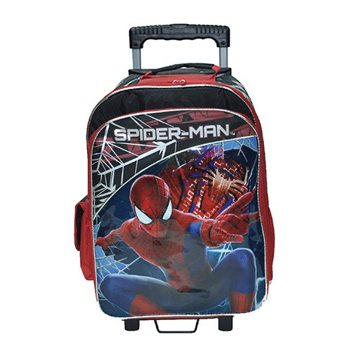 Spiderman Trolley Bag 17""