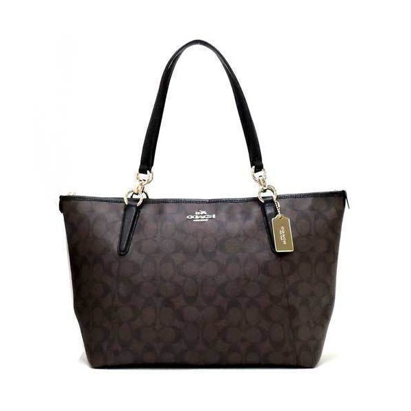 Coach Signature Ava Shoulder Tote