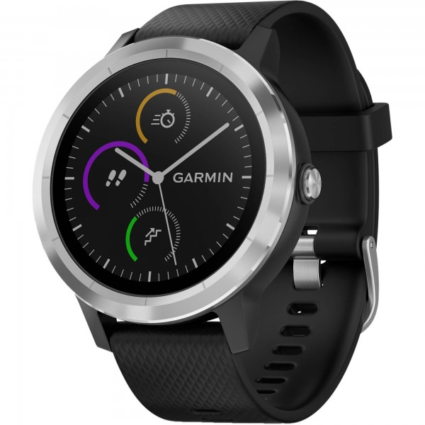 Garmin Vivoactive 3 Stainless Steel Black