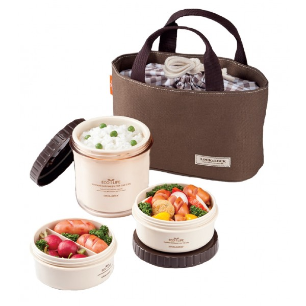 Lock & Lock Round Lunch Box