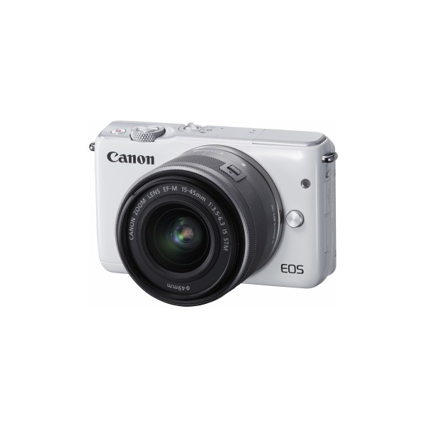 Canon Mirrorless Camera EOS M10 kit (EF-M15-45mm is STM)