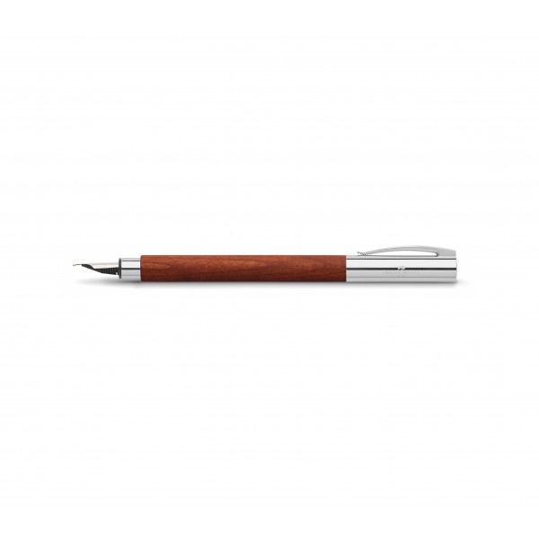 Faber-Castell Ambition Pear Wood Twist Ball Pen & Roller Ball Pen (14 81 31 & 14 81 11)