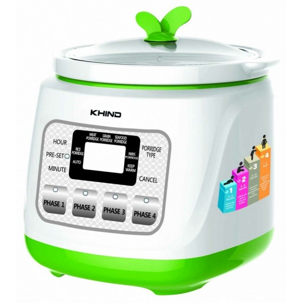 Khind Porridge & Soup Cooker(BP12S)