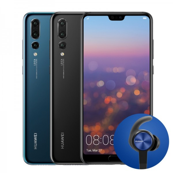 Huawei P20 Pro with Complimentary Headphones