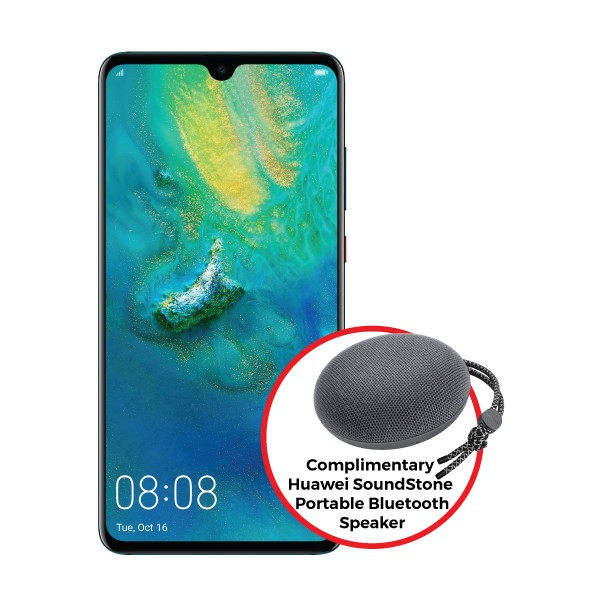 Huawei Mate20 (Complimentary Huawei SoundStone Portable Bluetooth Speaker worth RM218)