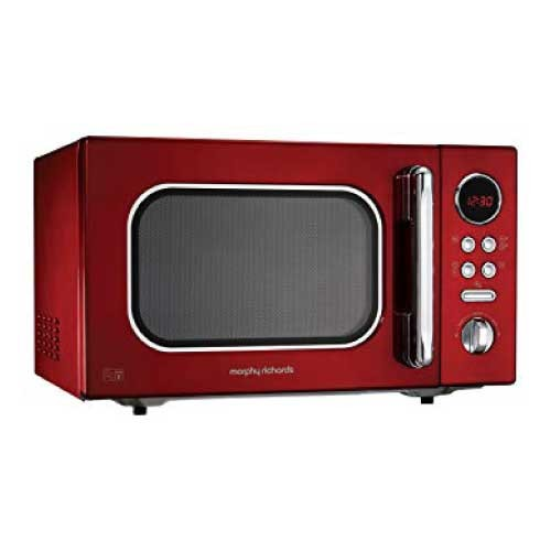 Morphy Richards Accents Red Microwave Oven