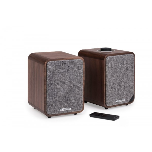 Ruark Audio MR1 Mk2 Bluetooth Speaker System (Rich Walnut Veener)