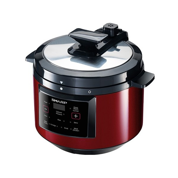 Sharp 6L Twin Pots Pressure Cooker