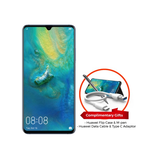 Huawei Mate20 X (Complimentary Flip Case and M-Pen worth RM286 + Huawei Data Cable and Type C Adaptor)