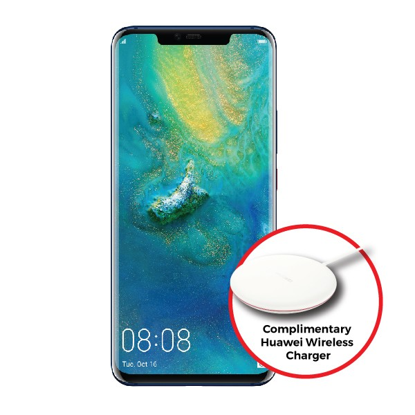 Huawei Mate20 Pro (Complimentary Huawei CP60 Wireless Charger worth RM299)