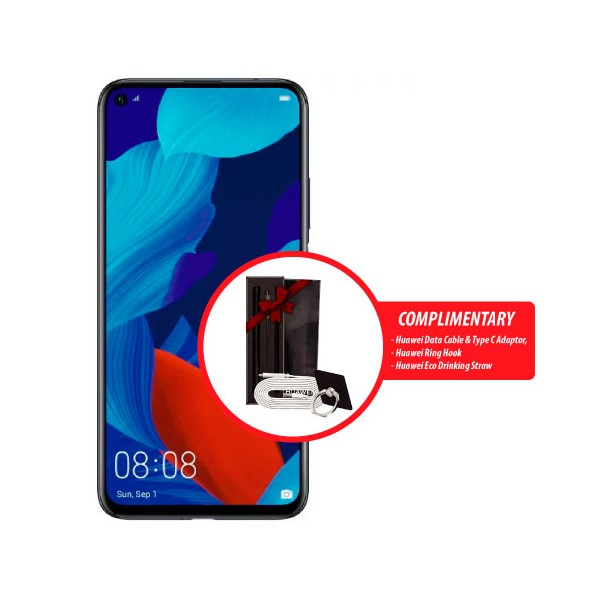 Huawei Nova 5T with Complimentary Gifts