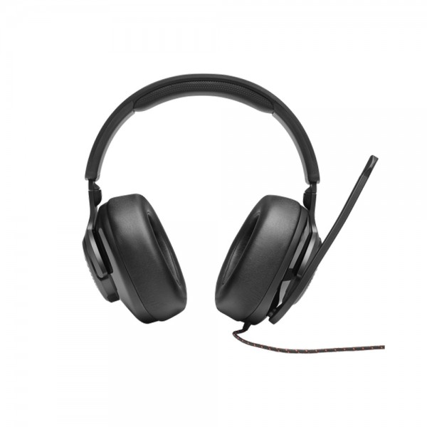 JBL Quantum 300 Wired Over Ear Gaming Headset with Surround Sound